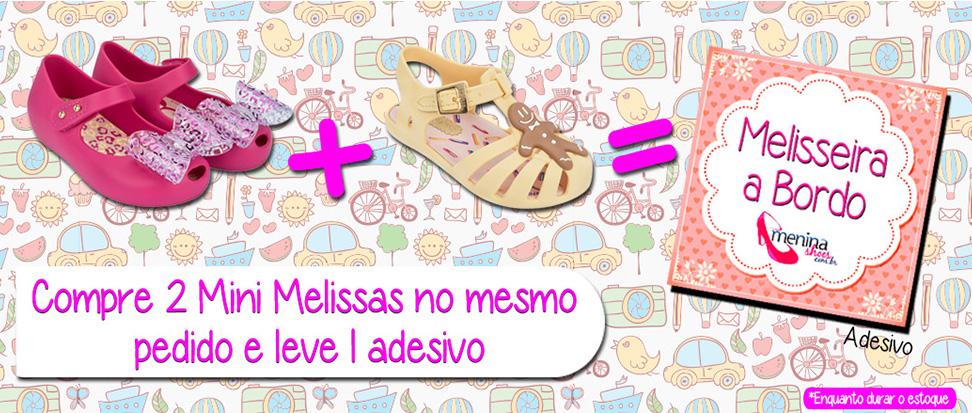 Promocao Mini Melissa